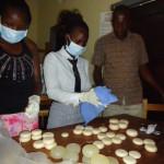 1 childline volunteers cleaning soap