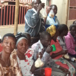 1clients cheering after distributing soap with some staff members (2)